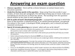 animal farm the exam question 9