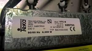 Placa Vitrocerámica TEKA VTC B INOXVitroceramica Teka Vtc B
