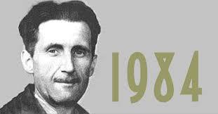 O livro de Orwell e as semelhan  as preocupantes com os EUA     George Orwell        War is peace Big Brother is watching you