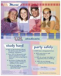 social norms national research and resources most ua students study hard party safely