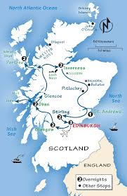 scotland itinerary where to go in
