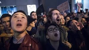 Image result for hillary snowflakes screaming election anniversary