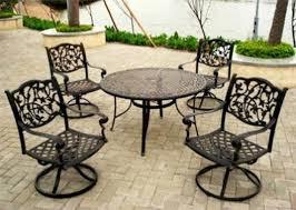 Wrought Iron Garden Furniture OBEBKL1 acadianaug