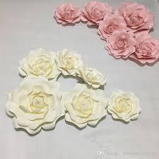 Cardstock Paper Flower Set Giant Simulation Cardstock Paper Flowers Showcase Wedding