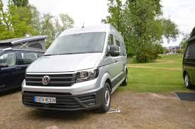 2018 volkswagen crafter. exellent 2018 this new vw campervan uses a popout section cut into the rear nearside  panel to allow twometre bed fit transversely in of crafter body  in 2018 volkswagen crafter 7