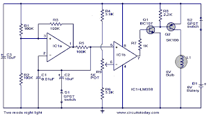 light circuit diagram light image wiring diagram two mode night light circuit working circuit diagram on light circuit diagram