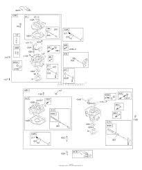 Briggs and stratton 350447 1027 a1 parts diagram for carburetor
