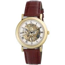 laurens watches laurens mens 026411aa prestige skeleton watch
