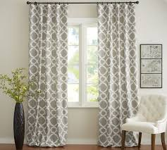Trellis Pattern Curtains