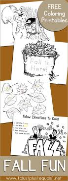Free Fall Fun Coloring Coloring Pages