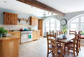 Family Kitchen Converting A Run Down Farm Building Into A Family Kitchen Real Homes