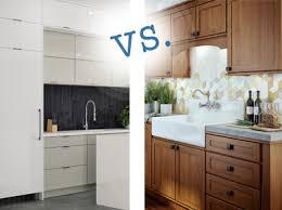 cabinet types frameless vs framed