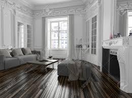 Klassiek Wit Interieur Classic Klassieke Witte Woonkamer Interieur
