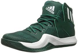 adidas basketball shoes. adidas performance men\u0027s shoes | crazy bounce basketball, collegiate green/white/green, basketball e