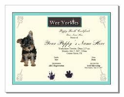 Dog Birth Certificate Template Drabble Info