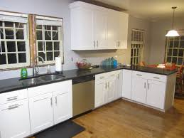 painting kitchen countertops ideas from black and white laminate kitchen cupboard paint source home