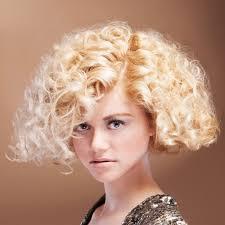 beautiful short curly blonde hair cuts