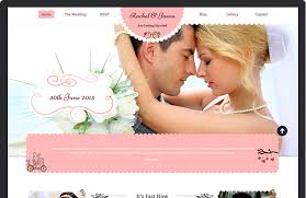 Wedding Wordpress Theme Enlance Minimal Themes