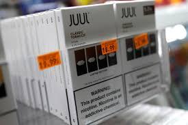 Juul Stock Market Chart E Cigarette Maker Juuls Valuation Coming Down Sharply