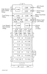 ford taurus fuse box diagram ford wiring diagrams online