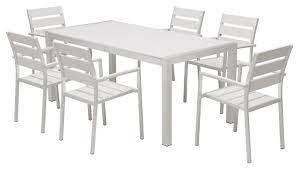 outdoor patio furniture aluminum resin