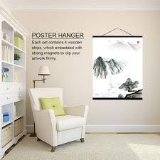 home magnetic wooden photo picture frame diy poster
