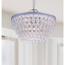 dining room chandelier crystals teardrop thesecretconsul with regard to popular home ideas wine bottle chandeliers nickel