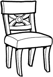 Small Picture Kitchen Chair coloring page Free Printable Coloring Pages
