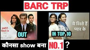 Trp Chart Of This Week Barc Trp Chart Of The Week 36 Kzk2 Yrkkh Yrpkk Chhoti Sardarni Kumkum Bhagya