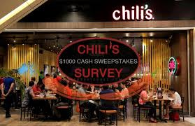 chilis customer service chilis customer service survey all survey sweepstakes of