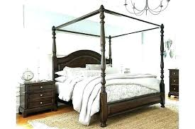 Full Canopy Bed Frame Full Size Metal Canopy Bed Frame Full Size ...