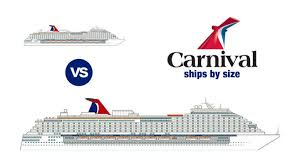 Carnival Ship Comparison Chart Carnival Ships By Size 2019 How Big Is Yours