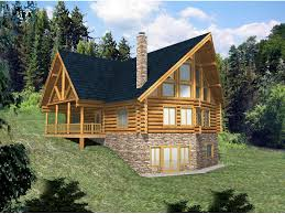 mountain home plan front of home 088d 0033 house planore