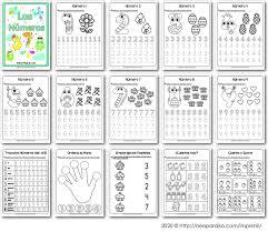 cuadernillo de números