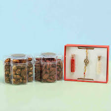 flavoured dry fruits spiritual rakhi bo