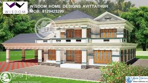 Small Picture 3506 Sq Ft Kerala New Style Home Design