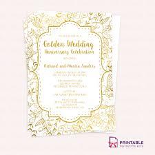 Formal Invitation Template Inspirational Free Pdf Template Golden ...