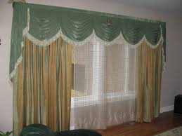 Pretty Curtains Living Room Glamorous Window Design With Couple White And Creamy Curtains Also