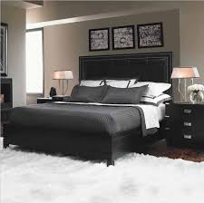 Amazing Gray Bedroom Black Furniture Photo   1