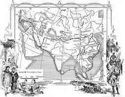 Марко Поло биография путешествия и открытия путешественника Маршрут Марко Поло