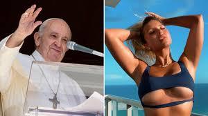 La modelo erótica Natalia Garibotto se vuelve viral tras recibir un 'like'  del Papa - AS.com