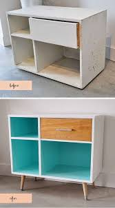 old furniture makeovers. Perfect Makeovers Legs Can Turn A Ratty Cabinet Into MidCentury Modern Wonder  Transforming Furniture By Just Adding Legs And Old Furniture Makeovers D