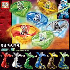 Đồ chơi lắp ráp xếp hình logo Ninjago season phần 12 con quay lốc xoáy DIGI  Kai Lloyd Jay Nya PRCK 61044 lẻ., Giá tháng 6/2021