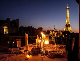 dining with eiffel tower view. most romantic dinner in paris dining with eiffel tower view