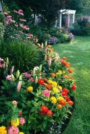 Small Picture Backyard flower garden and landscaping design perennial flowers