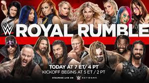 Royal Rumble 2020 results | Big Gold Belt