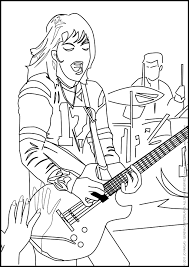 Small Picture COLORING PAGE FOR REAL KIDS JOAN JETT