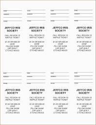 Free Printable Raffle Ticket Template Word Diaper Download