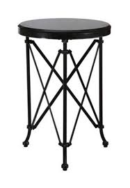 amazing of round metal accent table with marble metal round directoire accent table