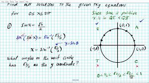 how to solve trig equations part 2 5 3 precalculus trigonometry limits